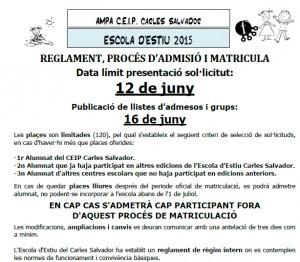 Reglament-process-Carles Calvador