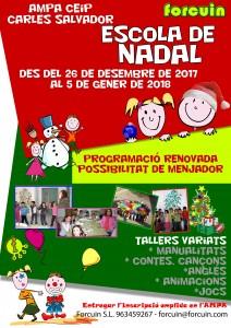 CARLES CARTEL ESCOLA NADAL 2017